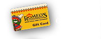 romeos giftcards